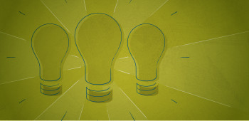 light bulbs with a green background that show how to manage millennials in the workforce
