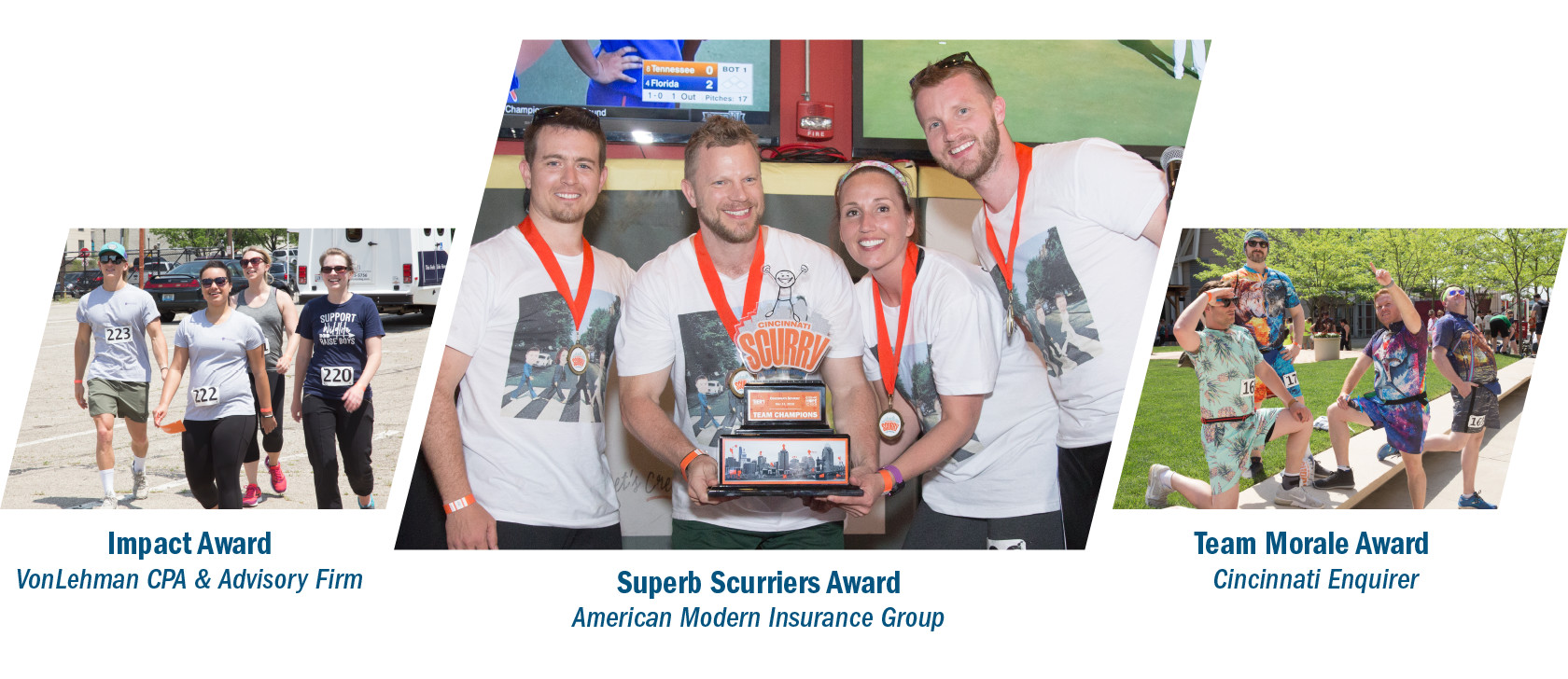 Scurry 2018 award winners